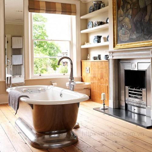 Nhà tắm nhỏ có nên lắp bồn tắm Caesar không?