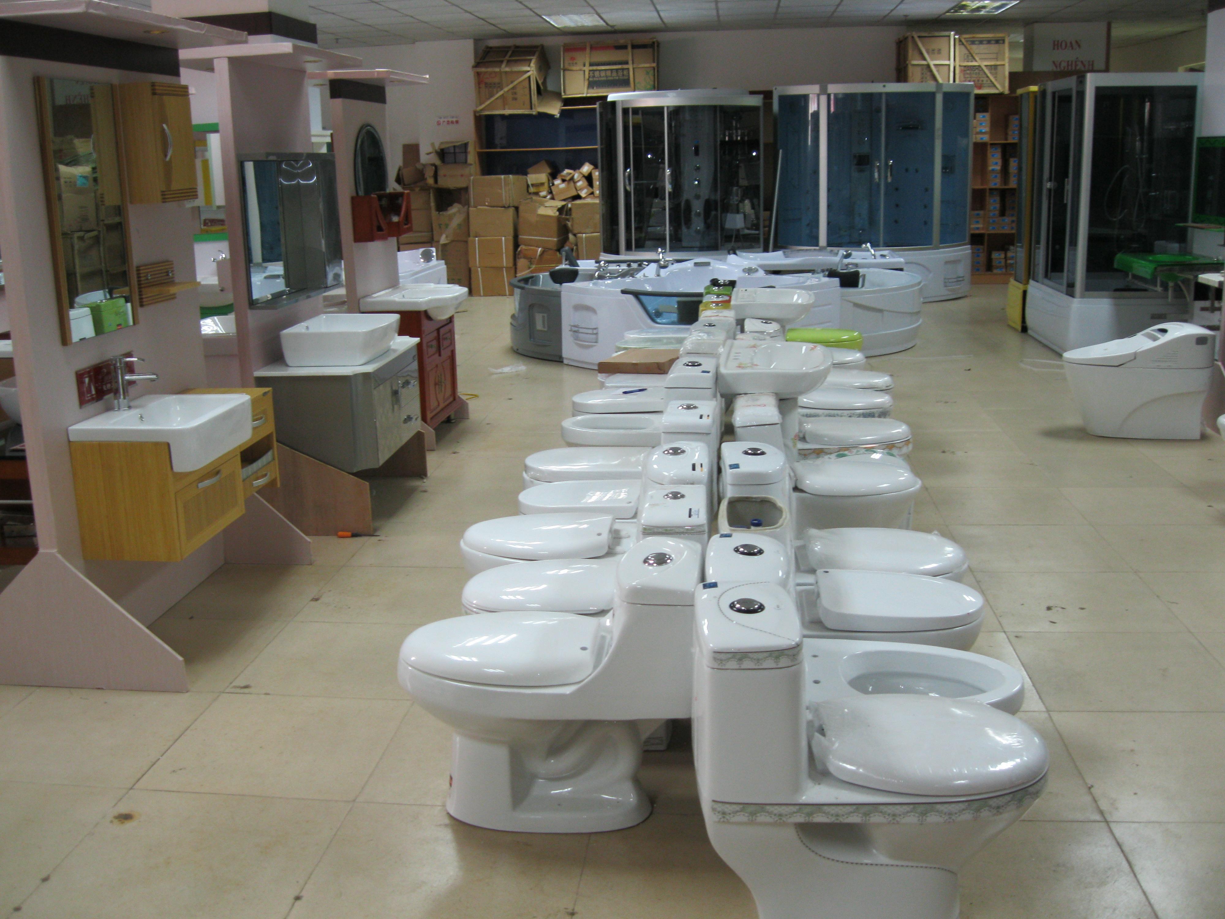 Bồn cầu caeser- thiết bị vệ sinh tiết kiệm nước hiệu quả