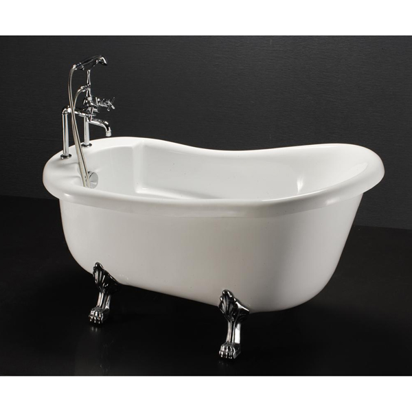 Bồn tắm thường có chân yếm